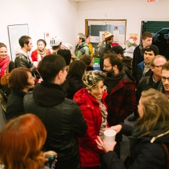 Crowd in Exhibition Room 1