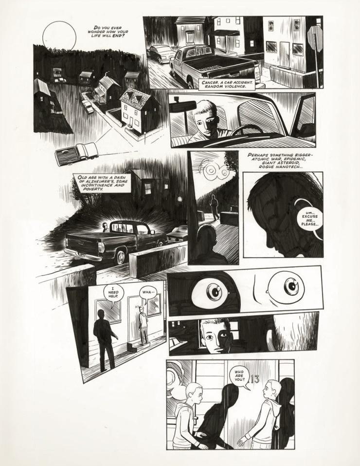 Jim Rugg Doppelganger Comic
