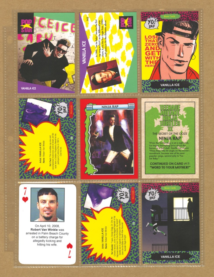 Jim Rugg Vanilla Ice Cards