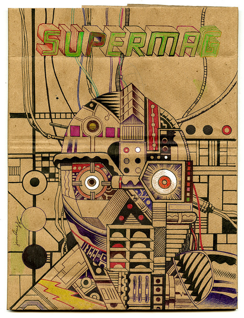 Supermag Jim Rugg Dust Jacket