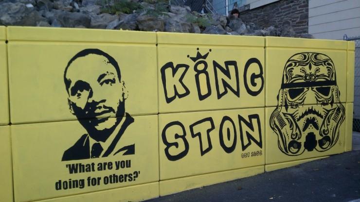 Kingston Mural O Positive Festival