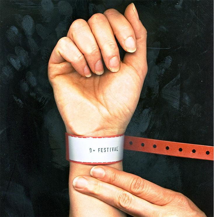 O Positive Wristband