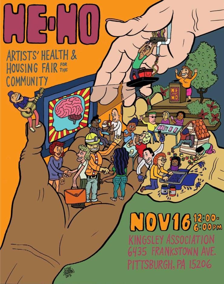 He Ho Fair poster by Lizzee Solomon