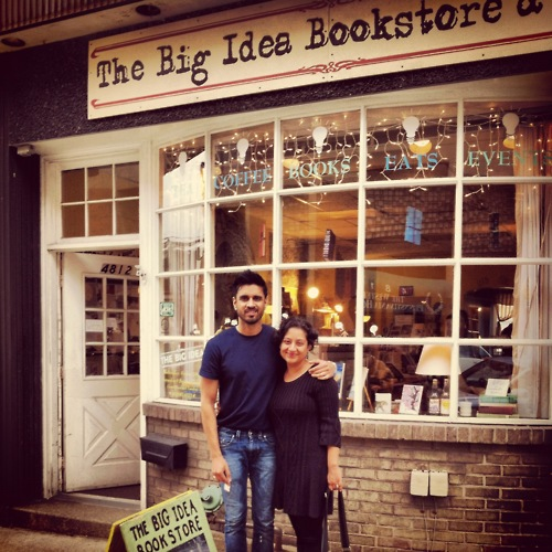 Big Idea Bookstore with writers Vivek Shraya and Farzana Doctor