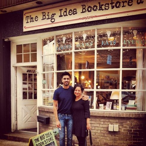 Big Idea Bookstore with writers Vivek Shraya and Farzana Doctor