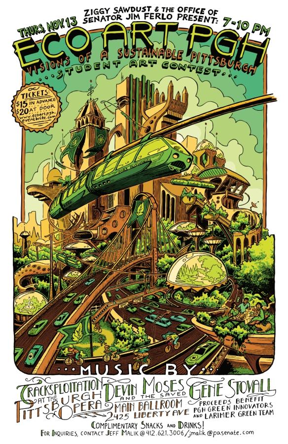 eco art pgh poster
